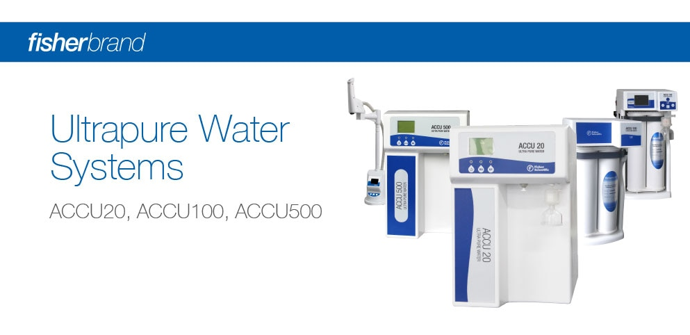 Fisherbrand Water Purification Systems