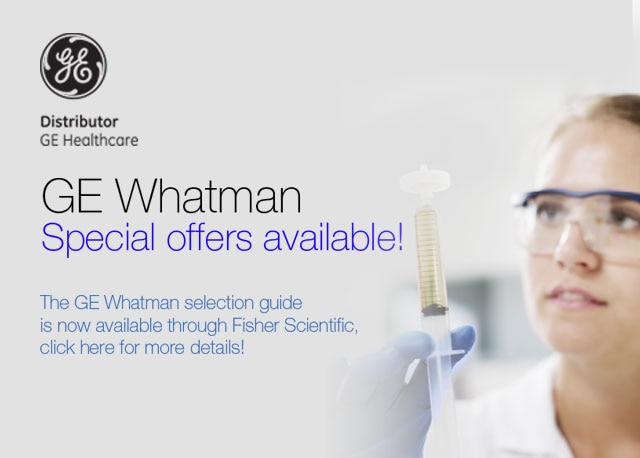 GE Whatman Filtration Offers